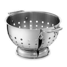 All-Clad Stainless Steel 5-Quart Colander - BedBathandBeyond.com  $79.99
