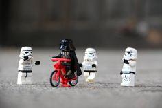 Great day in the city to go biking. Vader and the troopers at it already. #starwars #lego #legostagram #legostarwars #darkside #sith #forceawakens #stormtrooper #darthvader #kyloren #rogueone #lightsaber #minifigs #toysagram #bricknetwork #toyphotography #legophotography #legocollection #legominifgs #brickcentral #legoworld by nerdytitan