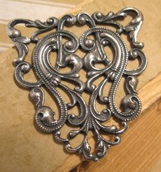 Hannah Pendant from Trinity Brass in Antique by beadbarnsupplies, $6.00