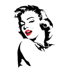 Marilyn monroe decals, marilyn monroe decals for walls, wall decals, custom w. Marilyn Monroe Dibujo, Marilyn Monroe Stencil, Marilyn Monroe Drawing, Marilyn Monroe Wall Art, Marilyn Monroe Pop Art, Marilyn Monroe Tattoo, Lips Illustration, Pop Art Lips, Custom Wall Decals