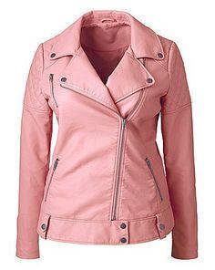 Pink Biker jacket de Simply Be