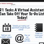 [Infographic] Clear Your To Do List With A Virtual Assistant!