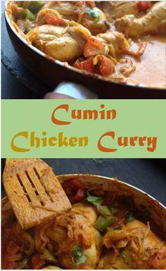 Easy Cumin chicken c