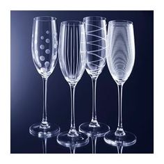 Mikasa Crystal Cheers Flute Champagnes Set(s) Of 4 --- http://bizz.mx/gmu