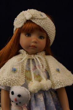 "Effner 13"" Little Darling My Lil' Snowman Ensemble by Ladybugs Doll Designs   eBay"