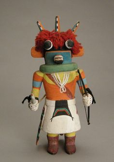 Hopi Three-Horn Kachina, c.1950
