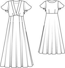 Burdastyle Summer Dress