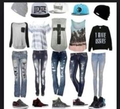 Fashion outfits, cool outfits for girls, nice outfits, swag outfits, back. Cool Girl Outfits, Tomboy Outfits, Outfits With Hats, Swag Outfits, Outfits For Teens, Fall Outfits, Summer Outfits, Casual Outfits, Cute Fashion