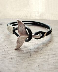 Whale Tail Bracelet Nautical Bracelet Beach by StarDelights
