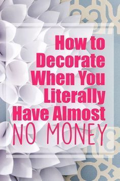 Decorating on a budget isn't easy, but when you have some awesome cheap home decor hacks and tips, things become a lot more simple. Decor on a budget, 10 Awesome Cheap Home Decor Hacks and Tips Do It Yourself Furniture, Do It Yourself Home, Affordable Home Decor, Cheap Home Decor, Easy Home Decor, Diy Home Decor Rustic, Modern Decor, Thrifty Decor, Decor Scandinavian