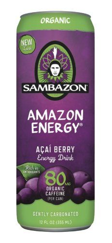 Apart from the banal and harmful energy beverages, the Sambazon Organic Acai Energy Drink boosts your power and your well-being too! Healthy Energy Drinks, Green Cafe, Acai Berry, Smoothie Drinks, Smoothies, Kombucha, Organic Recipes, Body Care, Packaging