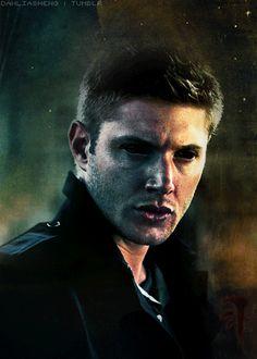 http://frickyeahjamesmoriarty.tumblr.com/post/86187699945 Supernatural fan art demon Dean