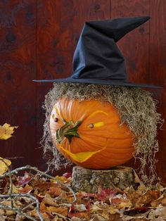 12 Charmingly Clever Pumpkin-Carving Ideas