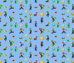 super mario bros wrapping paper - Google zoeken