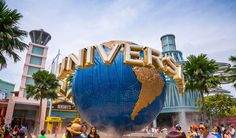 Universal Studios Sentosa Island Singapore