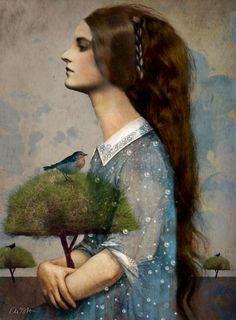 ♨ Intriguing Images ♨ unusual art photographs, paintings & illustrations - Plant me a tree- Catrin Welz-Stein Art Du Monde, Wassily Kandinsky, Surreal Art, Photomontage, Tree Art, Painting & Drawing, Fantasy Art, Digital Art, Art Gallery