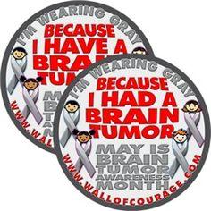 May is Brain Tumor Awareness month