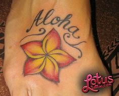 Hawaiian Flowers Tattoos  Lotus Flower Designs And Ideas