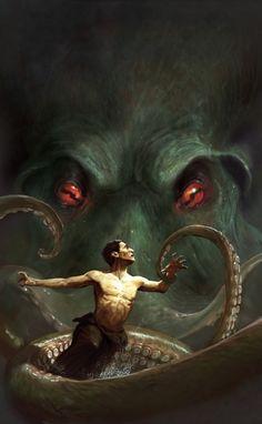 Call of Cthulhu by Marc Simonetti on CGSociety