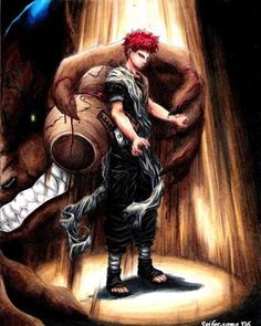 Gaara Of The Desert Clan. My favorite character from Naruto #naruto…