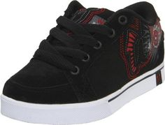 World Industries Court Skate Shoe (Little Kid/Big Kid) World Industries. $42.50. Rubber sole; Leather pinking; Made in China; Rubber sole; Graphic applications; Quilted liner; Embroidered logoing; leather