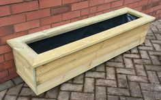 Long Rectangular Planter | Garden Centre Supplies | The Local Benches and Planters Specialist