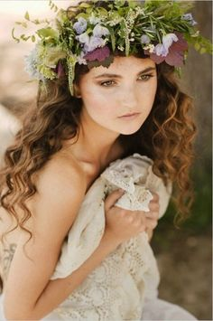Spring Has Sprung! Flower crowns, dresses and colors! | Honeybee ...