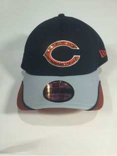 A personal favorite from my Etsy shop https://www.etsy.com/listing/462922582/chicago-bears-searvoski-baseball-hat