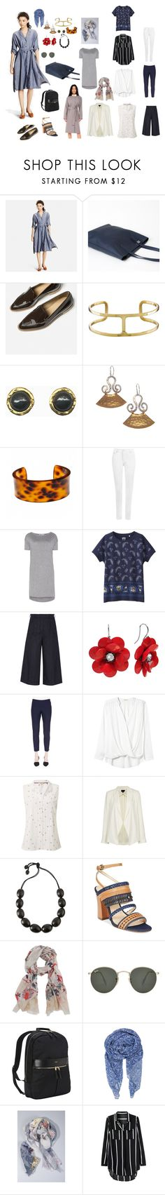 """Untitled #600"" by clothes-wise ❤ liked on Polyvore featuring Uniqlo, Evelyn Knight, Fornash, WearAll, T By Alexander Wang, Iris & Ink, Eileen Fisher, Rebecca Taylor, White Stuff and Topshop"