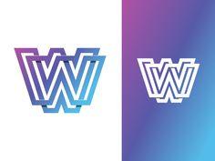 Logo Design WALL by Antonio Calvino