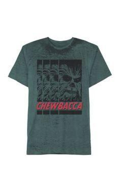 Hybrid™ Men's Chewbacca Tee - Green - 2Xl