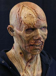Silicone Zombie Mask