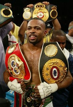 Roy Jones Jr. This guy was one of the best fighters ever. Even though he should retire I am still a huge fan.