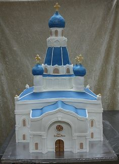 church cake 1 by The House of Cakes Dubai, via Flickr