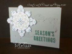 Stampin' Up! Letterpress Winter by Melissa Davies @ rubberfunatics