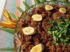 Na Cozinha da Margô: Paçoca de Carne Seca no Liquidificador