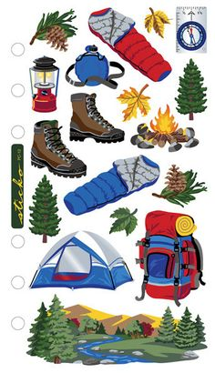 Camping Sticko Stickers The post Camping Sticko Stickers appeared first on Zelten.