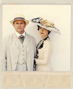 lord and lady grantham - downton abbey