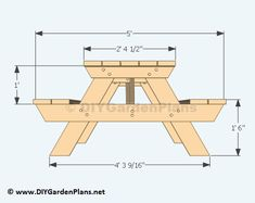 This was a really quick Follow Home Depot s step by step instructions to build a picnic We show you plans #woodworkingplans