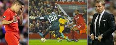 Liverpool are booed off after fluffing their lines in the Europa League against minnows Sion. Rea