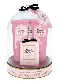 Beauty And The Beast Disney Rose Beauty Dome Gift Set: – Beauty And The Beast Disney Rose Beauty Dome Gift Set – 3 x 75ml bottles hand…