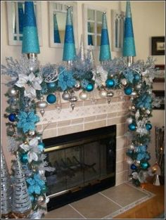 interior decorating tips for small homes silver and blue christmas decor christmas decor catalog 658x875 - Small Blue Christmas Tree