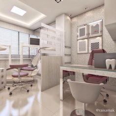 Resultado de imagem para consultorios odontologicos decoracao