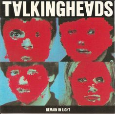 Talking Heads Remain in Light. Iconic.