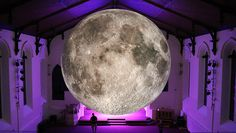 DESIGNBOOM: luke jerram's seven meter diameter moon is traveling across the world http://www.davincilifestyle.com/designboom-luke-jerrams-seven-meter-diameter-moon-is-traveling-across-the-world/       mar 22, 2017  luke jerram's seven meter diameter moon is traveling across the world       artist luke jerram is taking a seven meter diameter moon across the world. the touring art installation is lit from within, illuminating hyper-detailed NASA imagery sourced from t