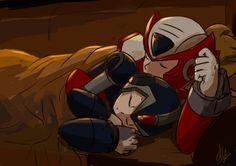 Sweet dreams, you guys. Megaman Zero, Megaman Series, Man Rules, Star Force, Fighting Robots, Rule 63, Shadow The Hedgehog, Art File, Lovey Dovey