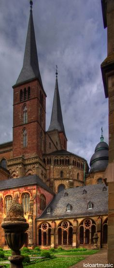 Trier cathedral of St Peter, a Roman Catholic Church in Trier, Rhineland, Palatinate.   GERMANY