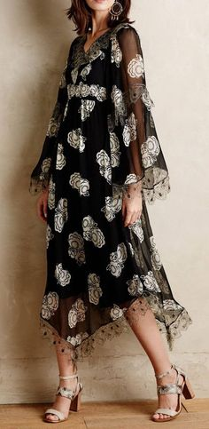 Kuray Silk Dress