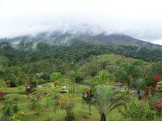 Arenal volcano Costa Rica