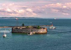 Forte São Marcelo. Salvador, Bahia.